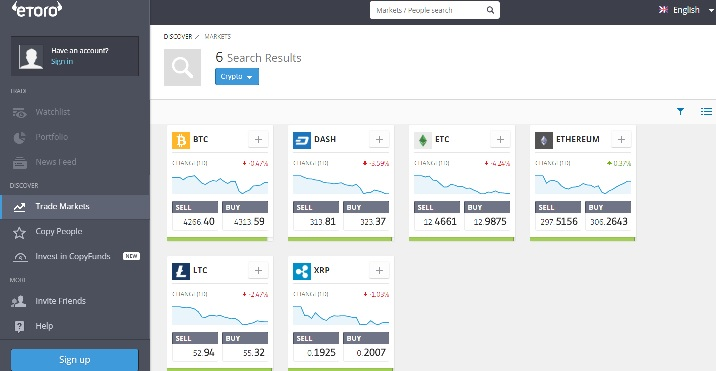 Trading Dash Online with regulated Forex Broker