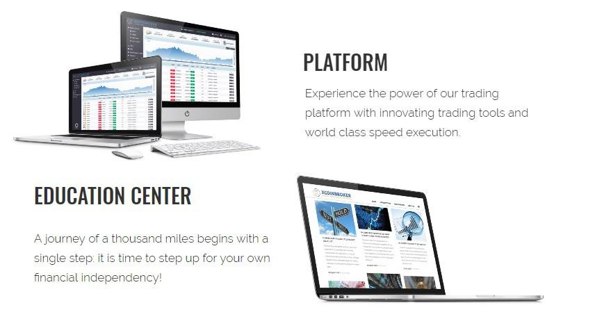 xcoinbroker.com Handelsplatform