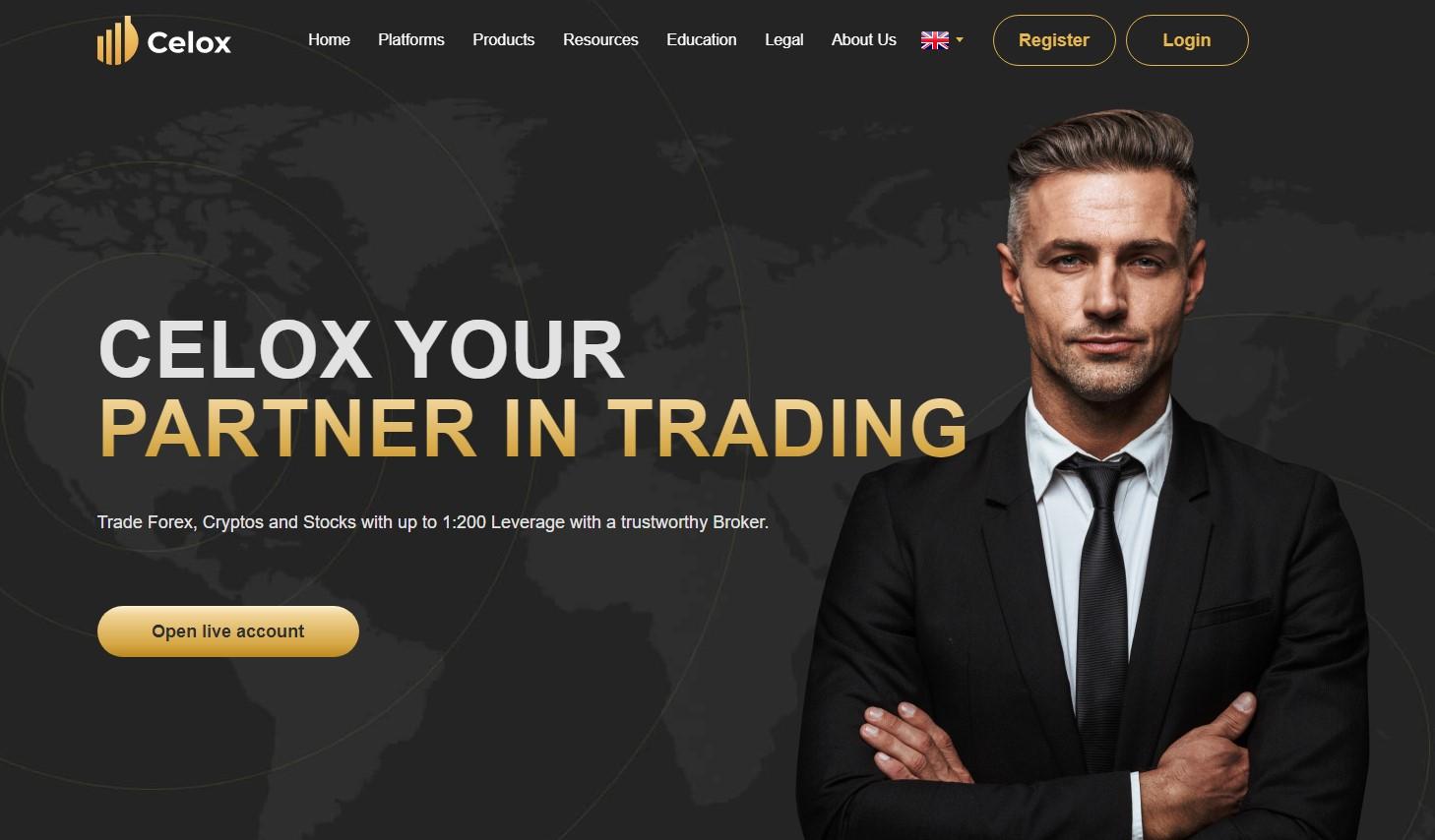 celox forex broker